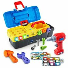 Educational Toys For Boys Toddler Kids Children Toolbox Playset Drill And Learn