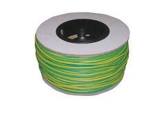 Tambor De 4 Mm De Pvc Tierra Sleeving - 100 Metros-Verde & amarillo es4-r