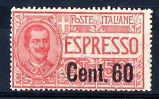 1922 REGNO ESPRESSO 60 CENTESIMI SU 50 INTEGRO C/7825