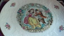 "ROYAL DOULTON  VALENTINES DAY 1979 8"" PLATE MIB"