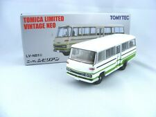 Nissan Civil Bus blanc/vert, 1/64, Tomica Limitée Vintage Neo LV-N51c, RARE