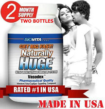 2 Naturally Huge Growth Transformation System Penis Enlargement Enhancement Pill