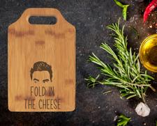 Fold in the Cheese Cutting Board | 9 x 6 Small David Rose Quote | Secret Santa