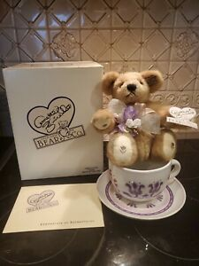 """ANNETTE FUNICELLO """"TIZZIE THE TEA CUP BEAR"""" - c17255"""