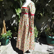 1960 Vintage Dress by Jean Allen Maxi Pink Floral Clothing