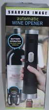 SHARPER IMAGE  AUTOMATIC WINE OPENER  BATTERY OPERATED NEW
