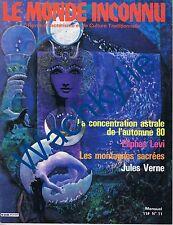 Le monde inconnu n°11 du 10/1980 Ésotérisme Jean Herbert Rose-Croix Togo