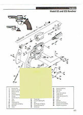Taurus Model 85 And 85S Model 85S stainless Revolver Exploded View Parts 2011 Ad