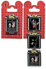 Disney Tower Of Terror HTH Service Elevator Mickey & Minnie Stitch Flip Pin RARE