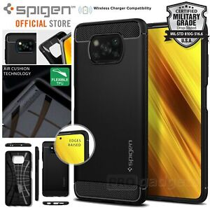 For Xiaomi Poco X3 NFC/X3 Pro Case Genuine SPIGEN Rugged Armor Shockproof Cover