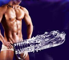 Dragon Head Penis Sleeve Enlarge Enhancer Extender Erection Impotence Aid Condom