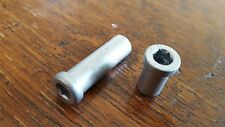 Campagnolo Recessed Caliper Brake Nuts FRONT + REAR Also Fit Shimano SRAM (NEW)