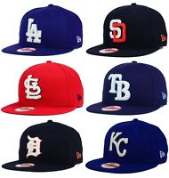 size 40 c7067 ab3ee New Era 9FIFTY MLB The Letter Man National American League Snapback Cap Hat   32
