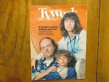 May 21,  1989 Chicago Tribune TV Week (JOHN  ASHTON/CINDY  PICKETT/LUKE EDWARDS