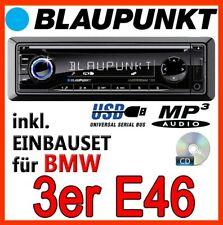 Blaupunkt Autoradio für BMW 3er E46 CD MP3 USB KFZ Einbauset ZUBEHÖR AUTO PKW