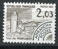 FRANCE TIMBRE   PREOBLITERE  N° 176  OBL  TOUR DE MONTLHERY