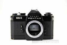Vintage Asahi Pentax ES II 35mm SLR Film Camera Body Only - Black, ESII ES2