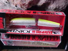 Rapala Jointed Minnow J11 SFC SILVER/FLO CHARTREUSE for Bass/Pike/Walleye/Trout