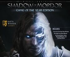 Shadow Of Mordor GOTY PC Steam Code Lord Of The Rings NEW Download Region Free