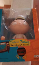 """Deluxe Talking """"Sexy Party"""" Stewie 2006 by Mezco Toys Unused in box"""