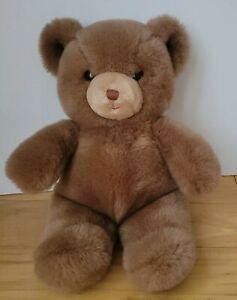 "Gund Brown Tender Teddy Bear Plush Toy Vintage 1983 13"""