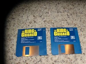 """The King of Chicago Commodore Amiga on 3.5"""" disks Near Mint"""