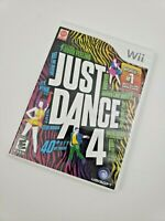 Just Dance 4 Nintendo Wi Complete with Manual CIB