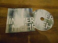 CD Pop SODA S.O.D.A. - Immer mehr (5 Song) MCD BLUE PEARL MUSIC BPM cb