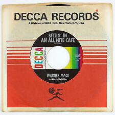 WARNER MACK Sittin'' In An All Nite Cafe / Blue Mood 7IN NM-