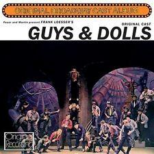 CD GUYS & DOLLS ORIGINAL BROADWAY CAST ROBERT ALDA STUBBY KAYE VIVIAN BLAINE