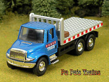 DieCast Blue Flat Bed Power Hauler Truck O Scale 1:48