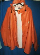 Viking Bristol Bay Heavy PVC Hooded Fishing jacket sz 2XL