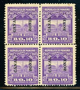CANAL ZONE MNG Multiple Selections: Scott #63 10c Violet (1921) CV$72+