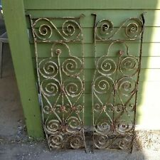 Architectural salvage Wrought Iron Panels