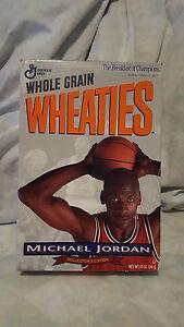 Michael Jordan Wheaties Box- 1993 Collectors Edition - Rare Collectible .
