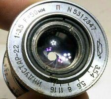 M39 Kamera-Objektive und 50mm Brennweite