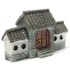 Miniature Villa House Dollhouse Potted Flower Plant Craft DIY Ornament Bons D1X4