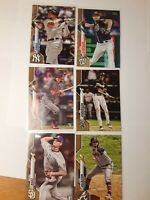 (7) 2020 Topps Gold Cards /2020 2 Rookies and 5 Stars. Brand New.