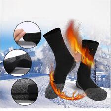 1Pair 35° Below Socks Aluminized Fibers Feet Warm And Dry Heat Insulation Black