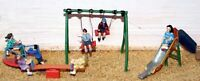 Childrens Playground scene (OO Scale) - Unpainted - Langley F152
