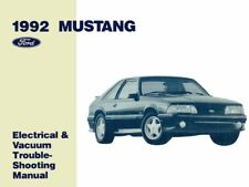 1992 Ford Mustang Electrical Vacuum Troubleshooting Procedure Service Manual
