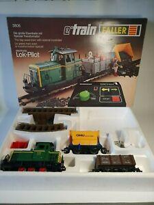 🚂coffret Faller LOCK PILOT le grand train réf 3836 locomotive sncf