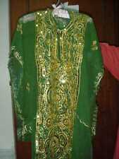 Child's Arabian Khaleeji Dance Thobe Nashal Costume Multicolored FREE INTL FEDEX
