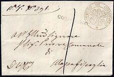 ITALY 1863 PAPAL STATES GOVERNOR DE CODIGORO