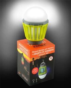 Lamp KILNEX mosquito killer lanter RED+LED