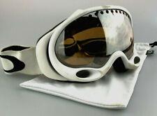Oakley Ambush Ski Goggles Snowboarding White Alpine