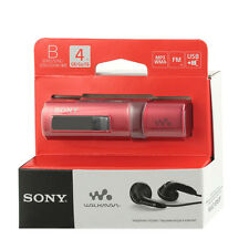 Sony NWZ-B183F Red Walkman with Built-in USB FM Tuner Flash MP3 Player sealed