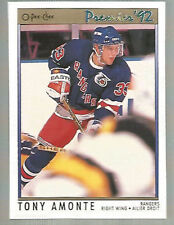 TONY AMONTE  ( 25 ) TWENTY-FIVE -  1991-92 OPC PREMIER ROOKIE CARDS