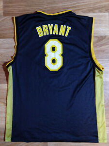 Reebok Kobe Bryant #8 Los Angeles Lakers Vintage NBA Basketball Jersey Shirt