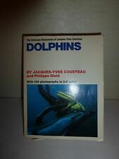 Dolphins by Jacques Yves Cousteau 1975 Paperback  Illustrated Philippe Diole 153